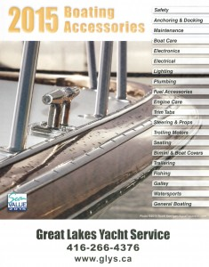 image of the Great Lakes Yacht Services boating accessories and repair catalogue avai