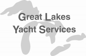 image of the great lakes yacht services boat repair and parts logo